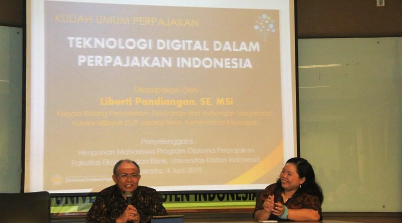 Teknologi Digital dalam Perpajakan Indonesia